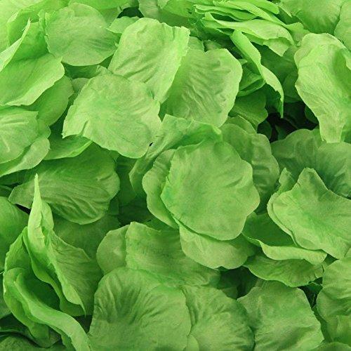 [해외]Outtop 1000pcs 여러 가지 빛깔의 실크 장미 인공 꽃잎 결혼식 ...