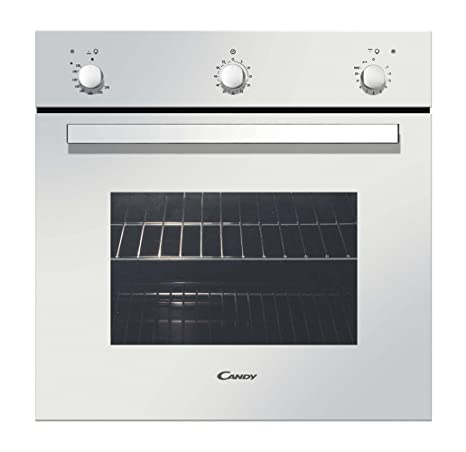 Candy FLG202/1W Gas natural 54L Blanco - Horno (Gas natural, 54 L ...