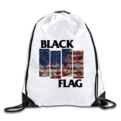 Acosoy Black Flag Drawstring - Friday Oakley Black