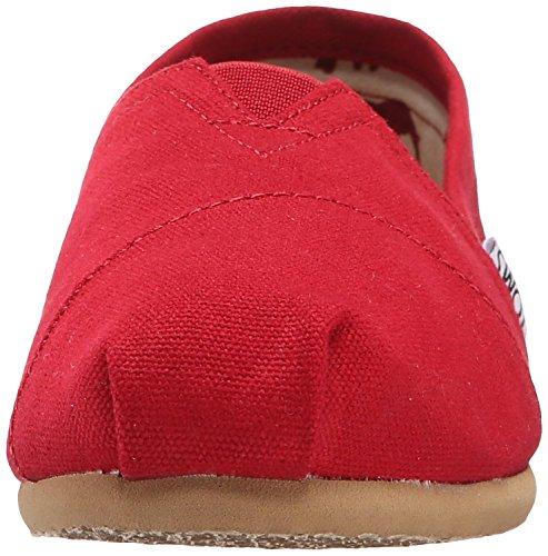 Lona Para Mujer Slip-on Red1