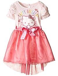Hello Kitty Girls' Happy Birthday Tutu Dress