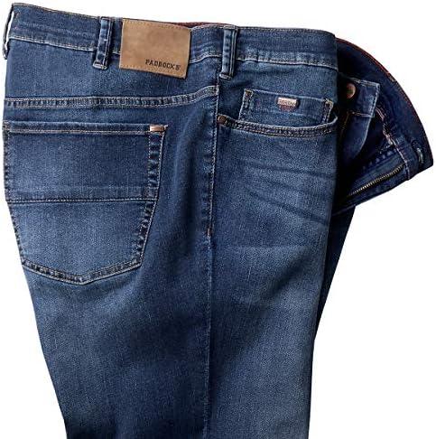 Paddock´s jean Ranger blue dark stone used grande taille