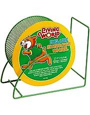 Living World Deluxe Exercise Wheel, Green, 17.5cm (7, Inch)