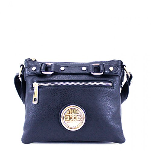 Navy Shoulder Bag Cross Women Tote Messenger Faux Satchel Leather Body Ladies Handbag x0wPXOq