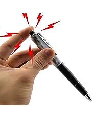 Beito 1 Stück Tricky Kreative Lustige Überraschung Stromschlag Kugelschreiber Spielzeug für Scherz (Schwarz)