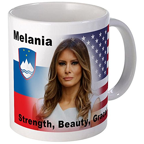 CafePress - Melania Trump Mugs - Unique Coffee Mug, Coffee Cup