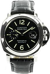Panerai Luminor Marina Mens 44mm. Automatic Watch PAM00104