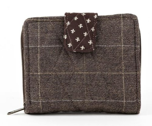 Bella Taylor Oxford Quilted Cotton Small Wallet [Apparel] ()