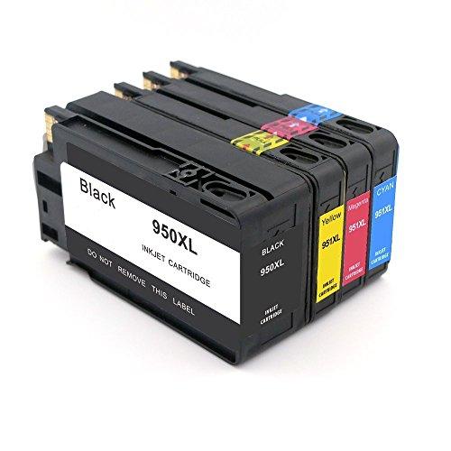 Annjet - Cartucho de tinta de repuesto para HP 950 XL, compatible con impresora HP Officejet Pro 8610 8600 8620 8630 8100...
