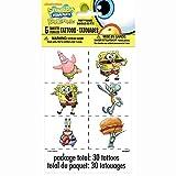 SpongeBob SquarePants Tattoo Sheets, 5ct