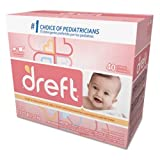 Dreft 85882 Ultra Powdered Laundry Detergent, Baby Powder Scent, 53 oz Capacity, 7.94'' Height, 6.81'' width (Pack of 4)