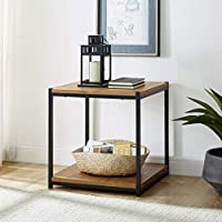 Tall Side End Table by Aaron Furniture Designs Brooklyn Series