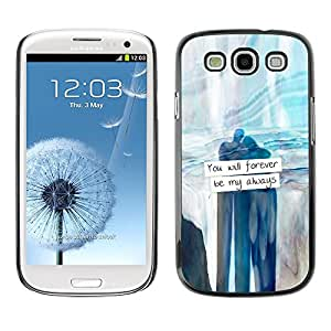 SKCASE Center / Funda Carcasa - Valentine Amor;;;;;;;; - Samsung Galaxy S3