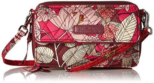 Vera Bradley Womens' All In One Crossbody for Iphone 6+, Bohemian Blooms, One Size
