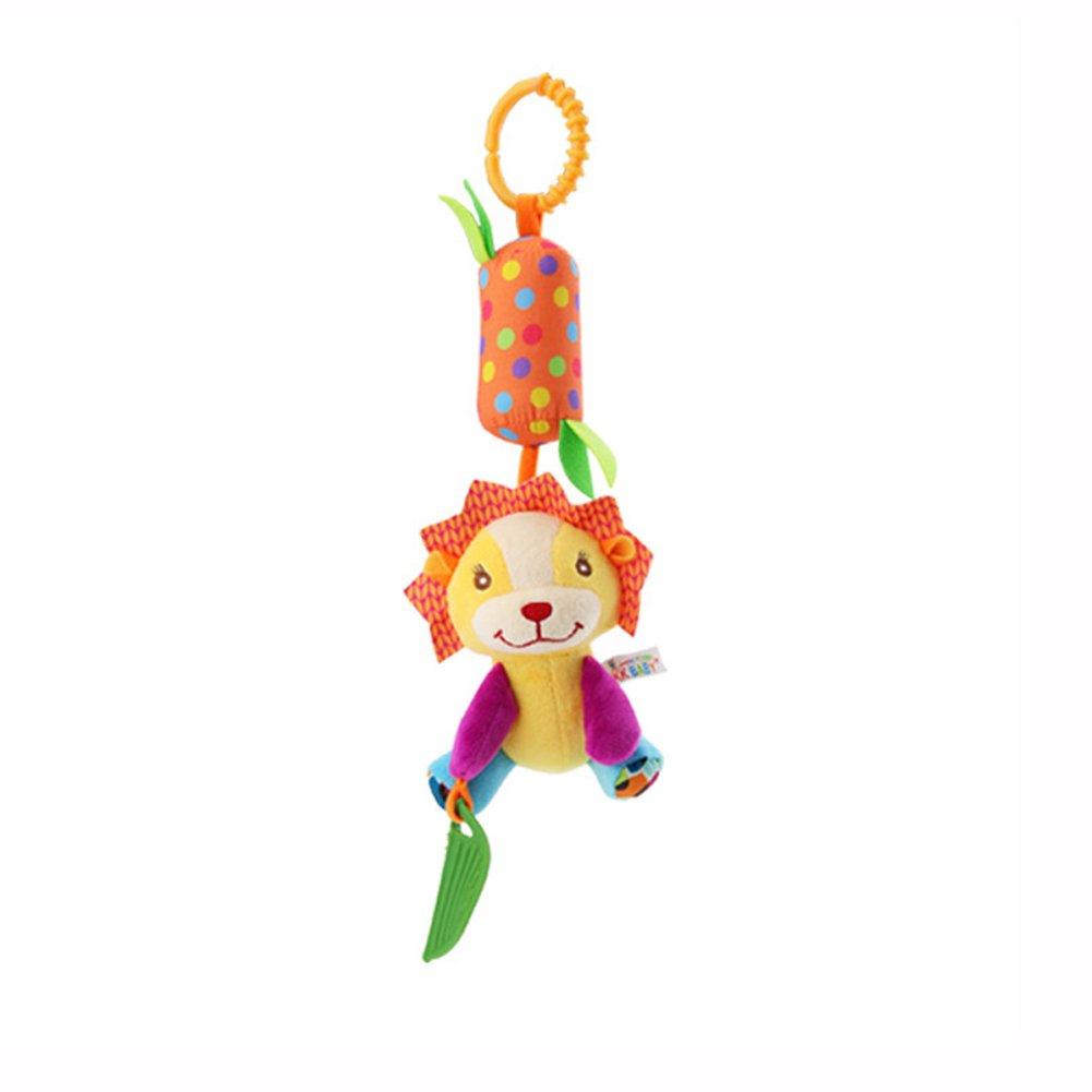 B/éb/é Hochets Suspendus Jouets Nouveau-N/é Si/ège De Voiture Pendaison Bell Infantile Poussette Clochette Marionnette Jouets Chien