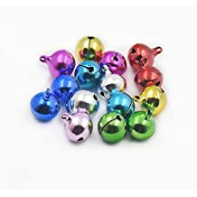 "Fujiyuan 25 pcs 12MM 1/2"" Charms Jingle Bell Craft Sewing Mixed Color"