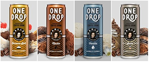 One Drop Premium Coffee Drinks (4 Flavor Variety Pack)