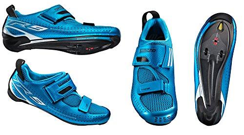 da SL SH ciclismo Scarpe GR blau triathlon TR9 Shimano adulto SPD Unisex qn5Z77xw