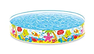 Intex Snorkel Buddies 5ft Snapset Pool - 5'X10""