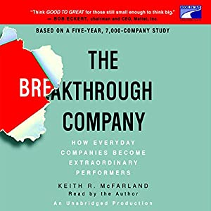 The Breakthrough Company Audiobook