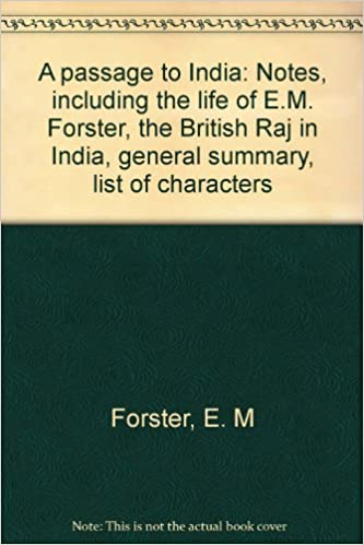 a passage to india notes