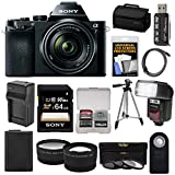 Sony Alpha A7 Digital Camera & 28-70mm FE OSS Lens with 64GB Card + Battery & Charger + Case + Tripod + Flash + Tele/Wide Lens Kit Review