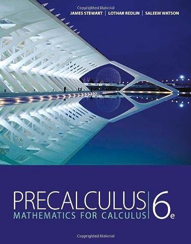 precalculus mathematics for calculus 6th edition james stewart rh amazon com Stewart Calculus Book James Stewart Calculus Newest Edition