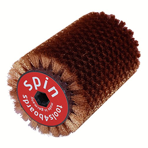 Tools4Boards Spin Bronze 115mm Ski & Snowboard Roto Brush, Black, 115cm by Tools4Boards