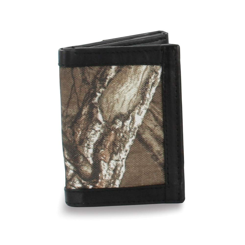 FB Jewels Solid Brown Realtree RFID Trifold Wallet