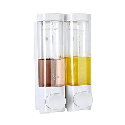 Baños viga de pared de la botella de dispensador de jabón desinfectante para las manos caja