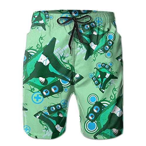 Beach Break Boardshort (Break Dance Men's Quick Dry Beach Shorts Swim Trunks Boardshorts Pockets)