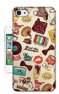 Loveuu Retro Picture TPU Phone Case for Ipad Mini