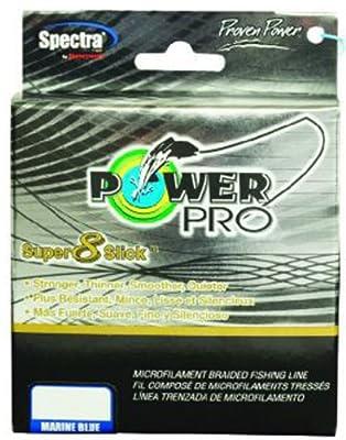 Power Pro Super 8 Slick Braided Fishing Line (Aqua Green)