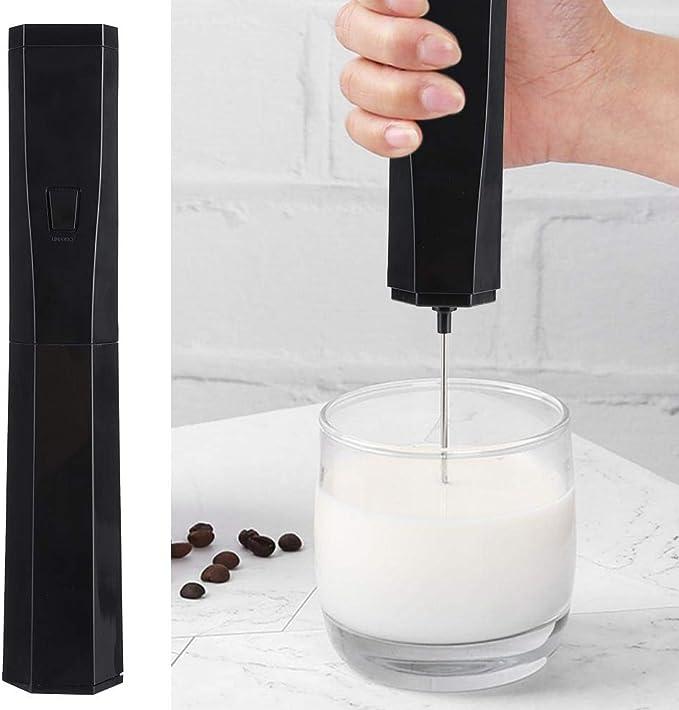 Batidora de leche eléctrica, mini batidora de mano eléctrica para el hogar Batidora de café con leche Batidora Batidora Utensilio de cocina: Amazon.es: Hogar