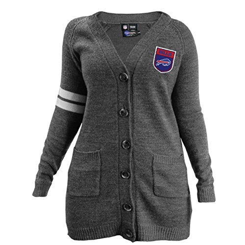 (NFL Buffalo Bills Varsity Cardigan, Large/XL )