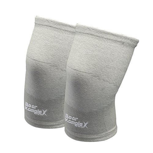 Bear KompleX Compression LITE Neoprene Knee Sleeves, Fitness & Support. 4mm