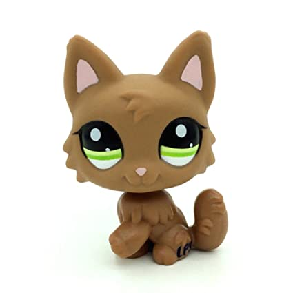 e57bf43d8e Amazon.com  ZAD Littlest Pet Shop LPS Toys Dog Puppy Brown Wolf Fox ...