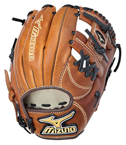 Mizuno GMVP1125B1 MVP Baseball Fielder's Mitt (Copper, 11.25-Inch, Right Handed Throw) - Pattern Baseball Fielder Glove