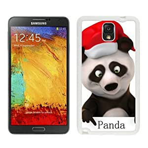 Featured Desin Christmas Panda White Samsung Galaxy Note 3 Case 2