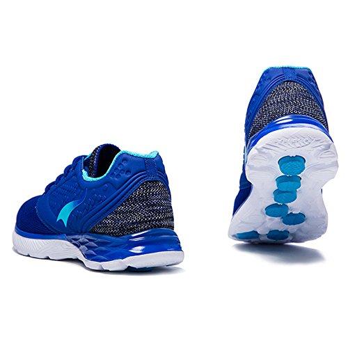 Onemix Uomo E Donna Sneakers Stringate In Mesh Sportive Scarpe Da Corsa Scarpe Casual Blu