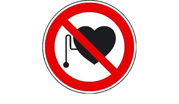 prohibición para personas con corazón palo de paso Prohibido ...