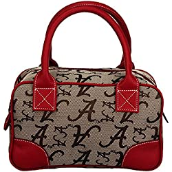 NCAA Alabama Crimson Tide Heiress Academic Handbag, Small