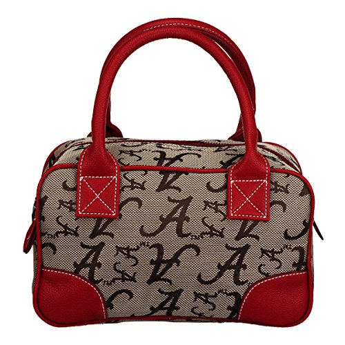 NCAA Alabama Crimson Tide Heiress Academic Handbag, Small by Sandol