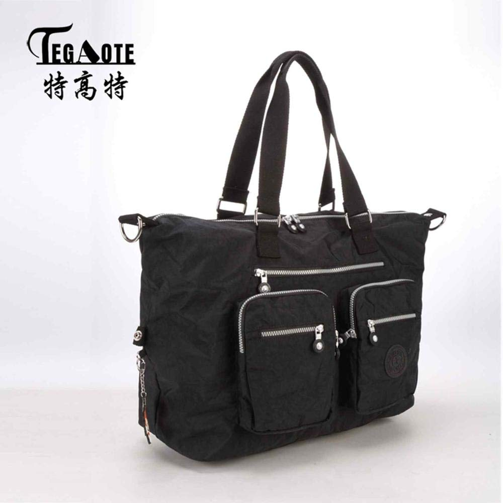 HITSAN INCORPORATION TEGAOTE Women Messenger Bag Ladies Crossbody Bags  Waterproof handbags Nylon Large Top-handle Shoulder Bag Female Bolsa  Feminina Color ... 21b20685ba