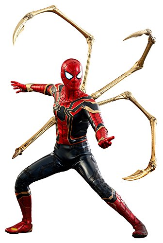 Hot Toys Marvel Avengers Infinity War Spider-Man Iron Spider Suit 1/6 Scale 12