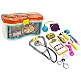 B Toys - B. Doctor Wee MD 23-Piece Play Doctor Kit - For Kids Ages 18 Months and Up