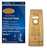 kirby 9 - EnviroCare Replacement Vacuum Bags for Kirby Style F 9 pack