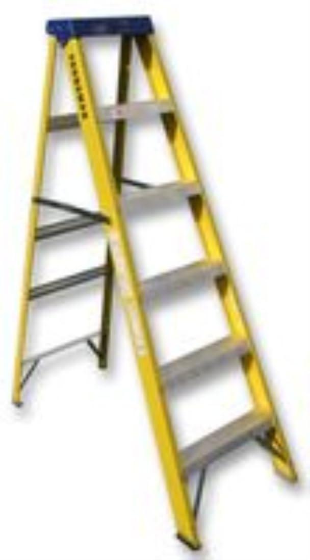 Escalera, de fibra de vidrio, TRADE, 6 lobbismo 527446 de YOUNGMAN y Best Price cuadrado: Amazon.es: Bricolaje y herramientas