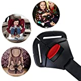 MuStone Car Baby Safety Seat Clip Fixed Lock Buckle,Seat Safe Belt Strap Harness Chest Child Clip Buckle Latch Toddler Clamp Protection (Black)