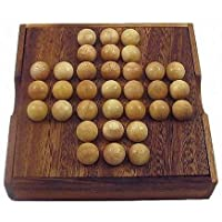 Winshare Puzzles and Games Solitaire Marble Wooden Brain